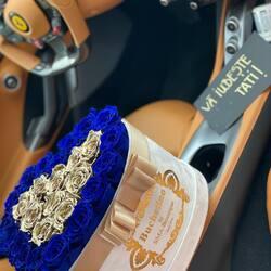 Un copil este minunea pe care o primim de la Dumnezeu!  Sa va traiasca micutul🤍💙 ———- ———-  #heartbox #luxuryflowerboxes #flowerdelivery #luxurygifts #weddinggift #livramzambete #inimadintrandafiri #cutiicutrandafiri #onlineflowershop #floweroftheday #cupolacutrandafir #loveroses #flowerdecorations #eternityroses #preservedroses #buchetinoconstanta #happylife #flowerinstagram #flowertalking #buchetinodesign #trandafiricriogenati #foreverroses #freezenroses #luxuryeternalroses