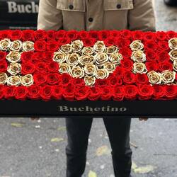 The only opportunity to ask for it in marriage is Valentine's Day❤️❤️❤️  Order🌐: www.buchetino.ro Call ☎️: 0720701701 Shop🏠: Mircea Voda 34