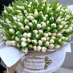 Everything it's quite until your attention is focused on a color🤍  #tulips #whitetulips #spring #march #flowershop #floristry #flowerstagram #onlineshop #delivery #101tulips #flowerarrangement #springvubes #flowerdesign #luxurybox #perfectgift #motherlove #internationalwomensday #brownie lovebuchetino #foreveryours #london #magicmoments #comingsoon #billion